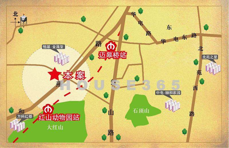 南昌大厦商务楼交通图