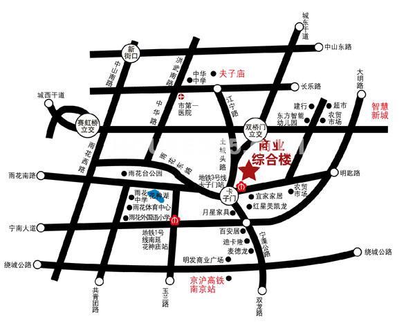 杜克SOHO交通图