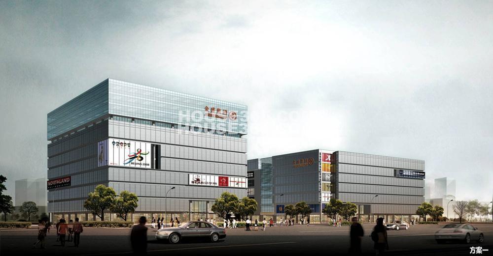 金盛国际家居建宁路广场效果图