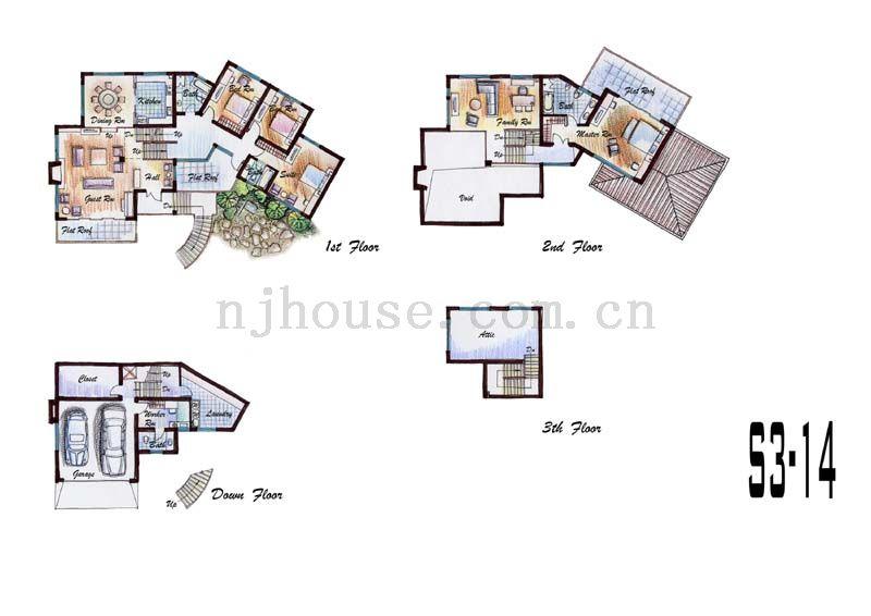 翠屏国际城户型图
