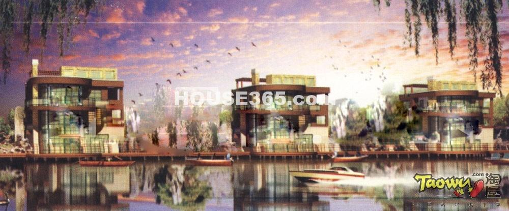 沁湖景岸效果图