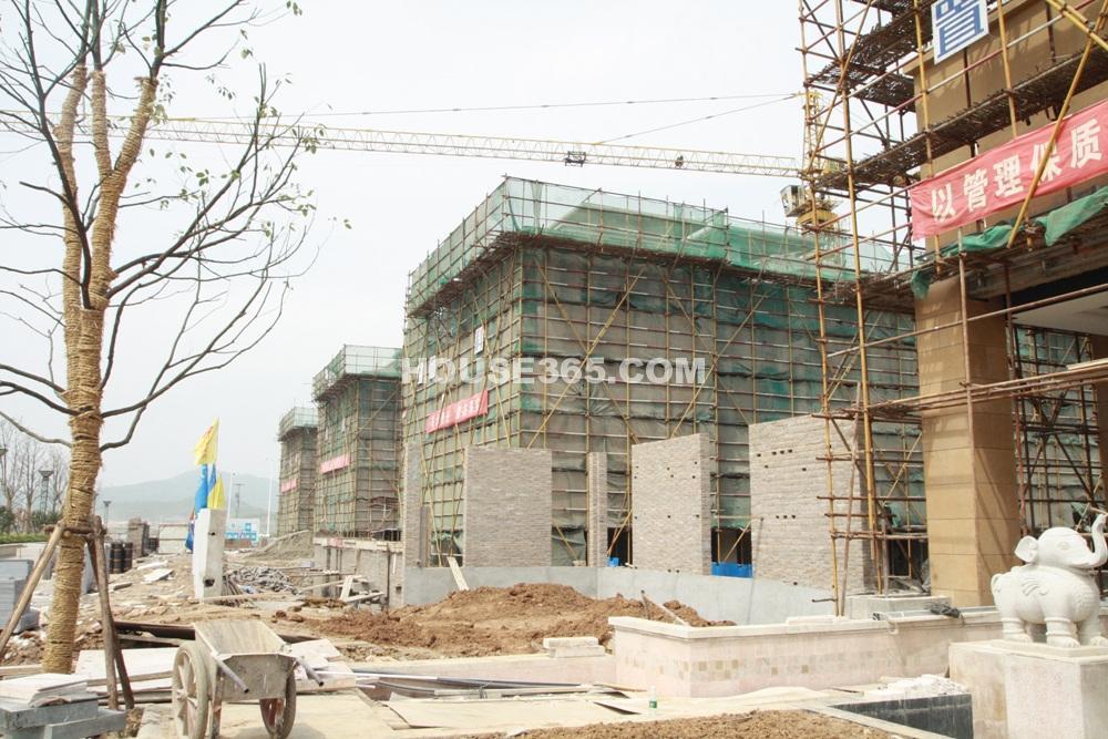 高科荣境项目施工现场(4.17)