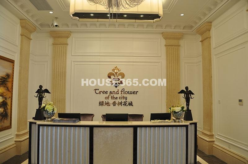 绿地香树花城售楼处实景图(拍摄于2012.07.17)