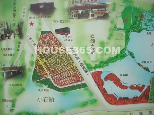 石湖华城鸟瞰图
