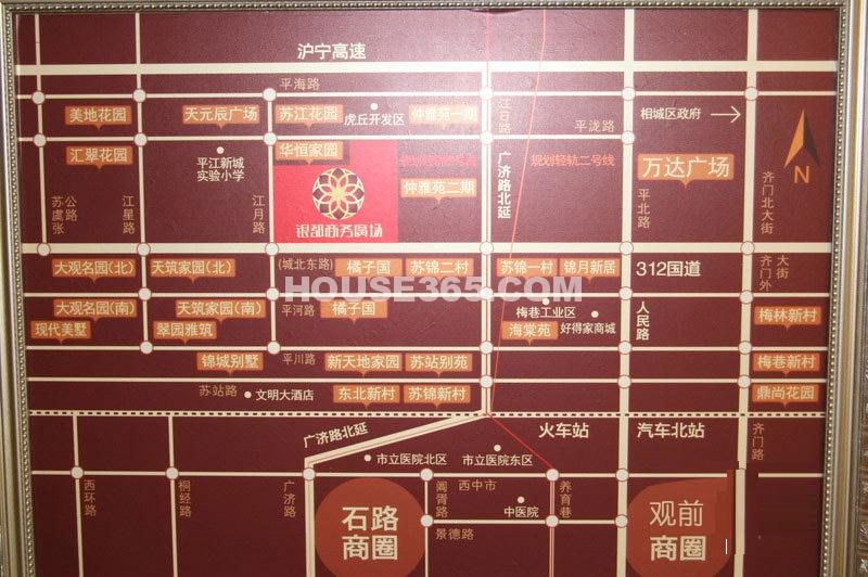 神马公寓交通图