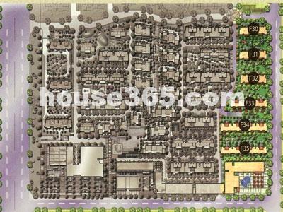绿地波士顿公馆鸟瞰图