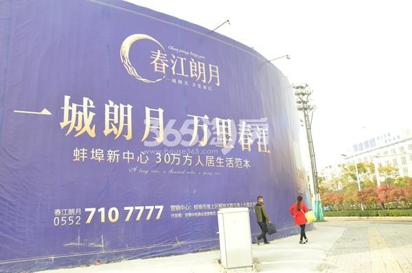 春江朗月 广告宣传外墙 201712