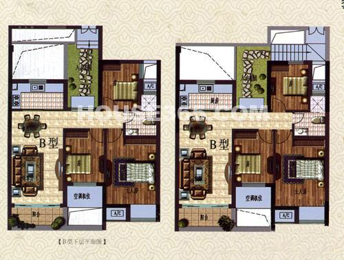 别墅中堂设计平面图