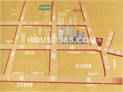 九洲新世界交通图