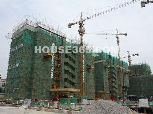 工程进展图(3号楼和14号楼)