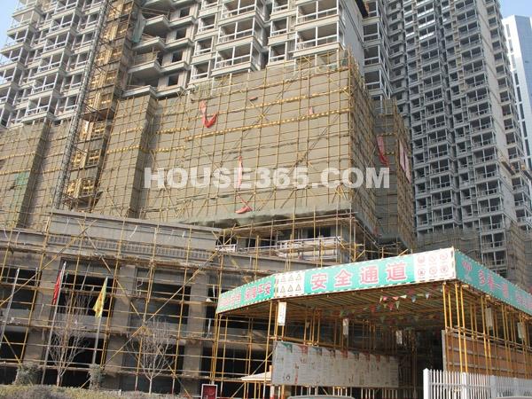 8、9、10号楼工程进度(2011.2.12)