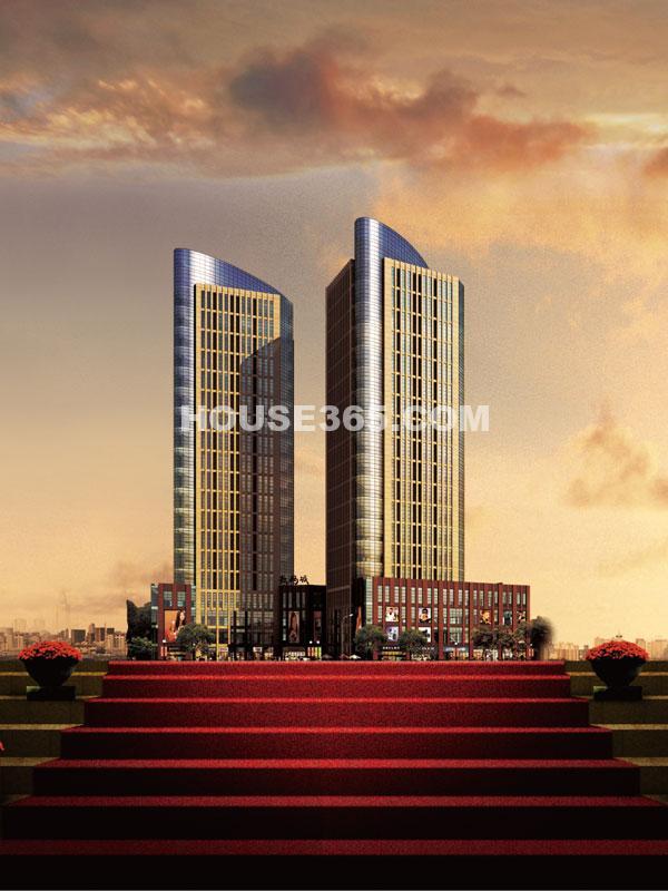 九洲新世界挑高公寓效果图