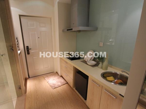 公寓B1户型 入口+厨房
