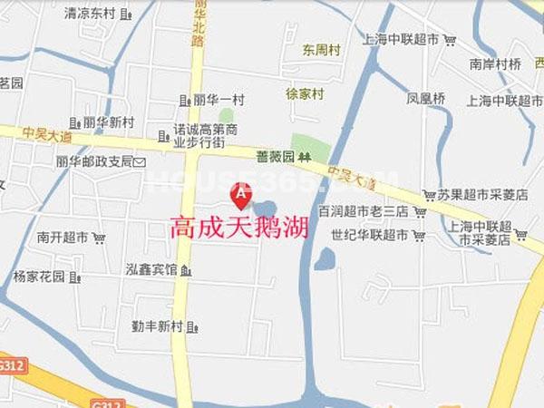 高成天鹅湖交通图
