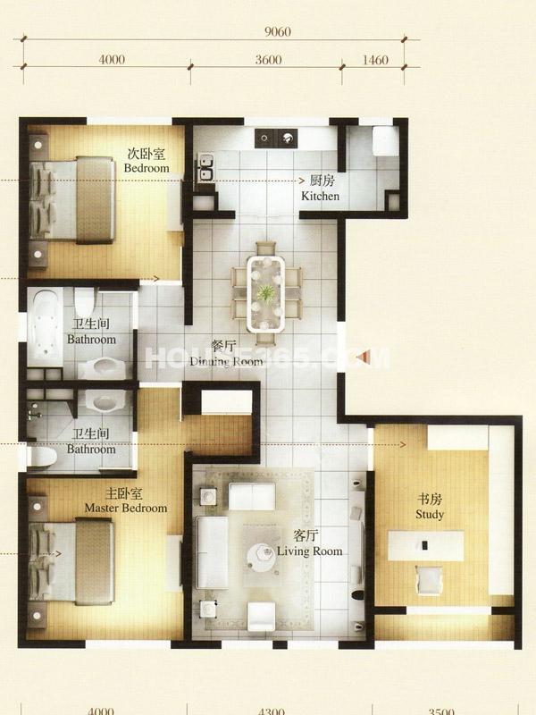 45#楼-乙单元02室