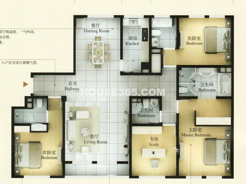 45#楼-乙单元01室