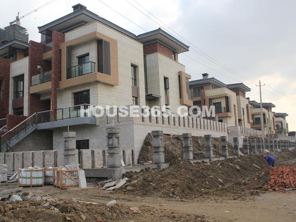 别墅工程进度(2011.12.1)