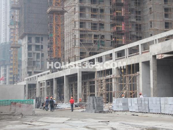国2号沿街商铺实景图(2012.6.7)