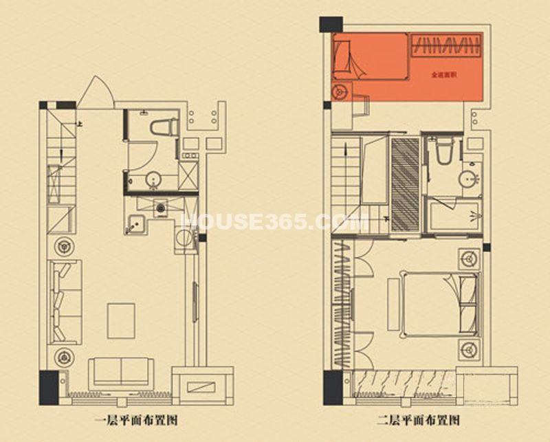 3#楼 2室2厅1厨2卫