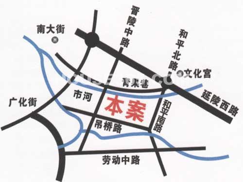 荆溪福院十二园交通图
