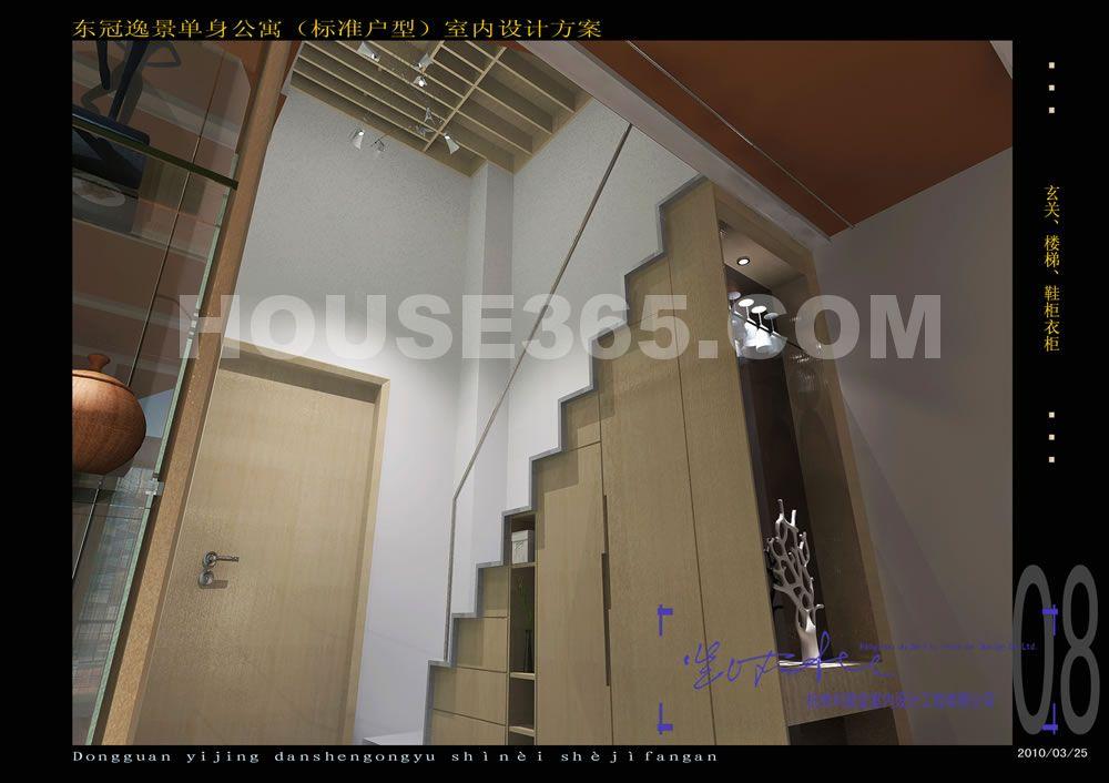 玄关,楼梯,鞋柜衣柜