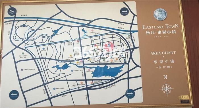 东湖小镇交通图