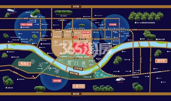 兰州安宁·吾悦广场交通图