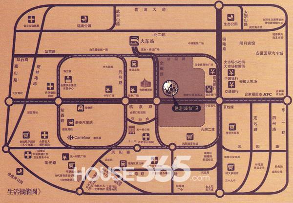 信地城市广场交通图