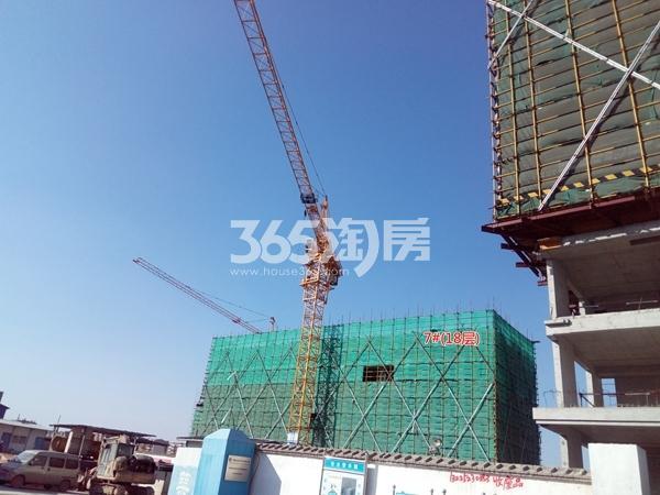 中海熙岸华府小高层17#楼建至6-7层(1.15)
