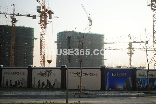 苏宁悦城实景图(2012.11.28)