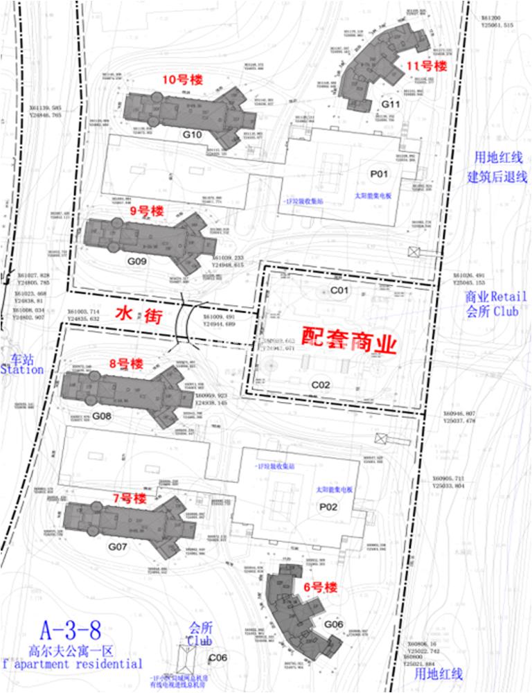 国信龙沐湾期公寓规划图