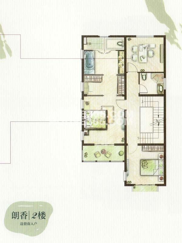 A户型朗香-4室2厅3卫-2楼(总户型面积385㎡)