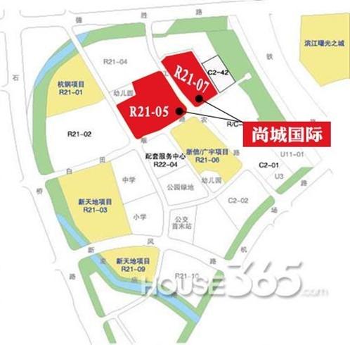 天阳尚城国际交通图