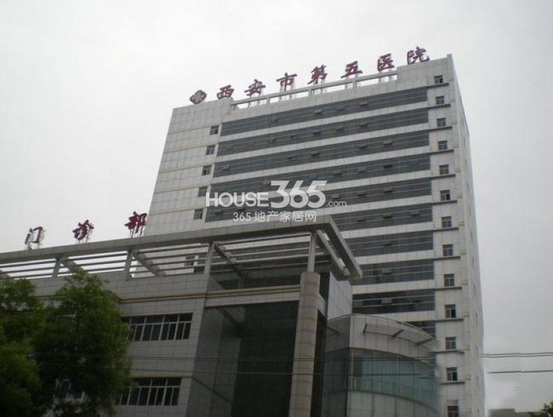 恒天国际城周边-西安市第五医院(2013年1月24日)
