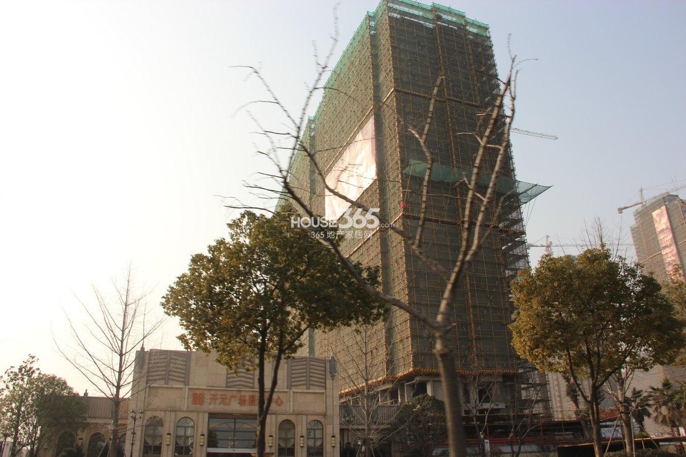 开元广场实景图
