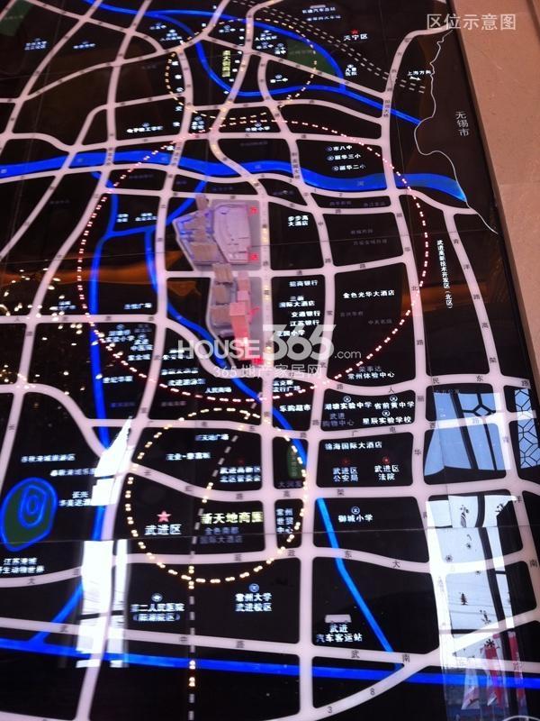 常州武进万达广场交通图