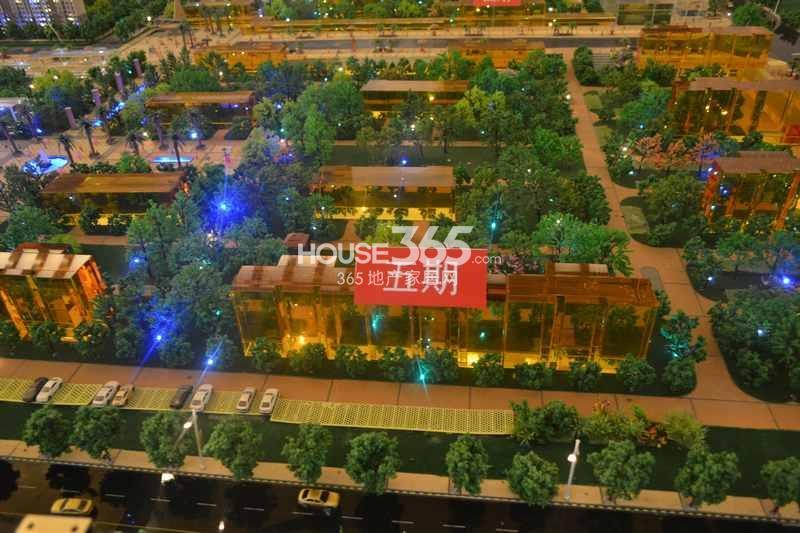 华远海蓝城五期沙盘图