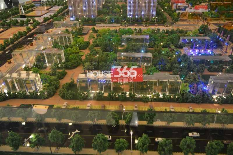 华远海蓝城三期沙盘图