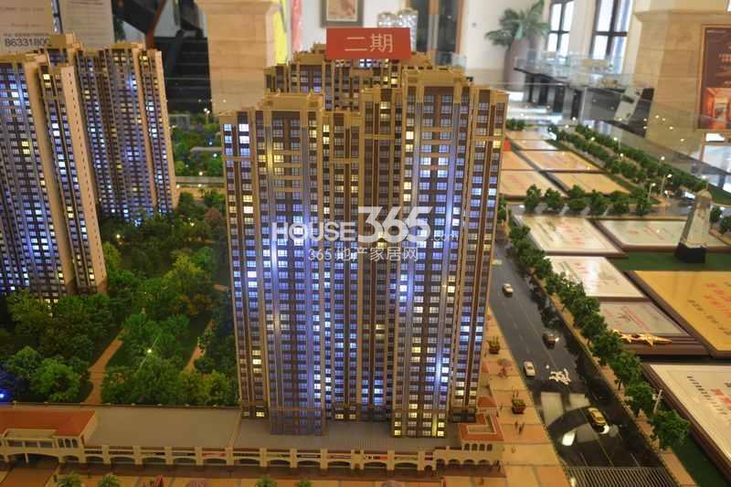 华远海蓝城二期沙盘图