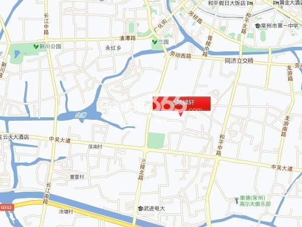 兰陵锦轩交通图
