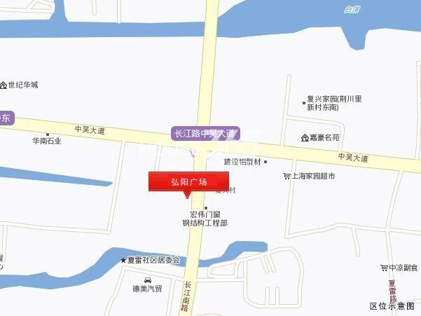 弘阳广场交通图
