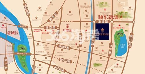 同昇玫瑰庄园交通图