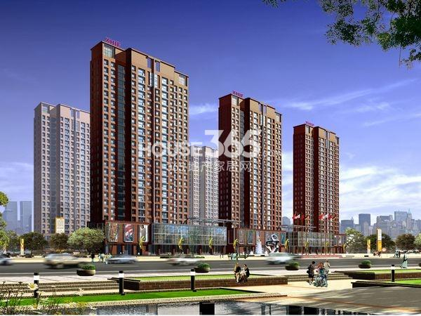 新华国际公寓效果图