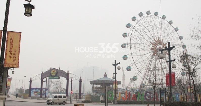 中海紫御华府中海派周边曲江乐园(2013-04-17)