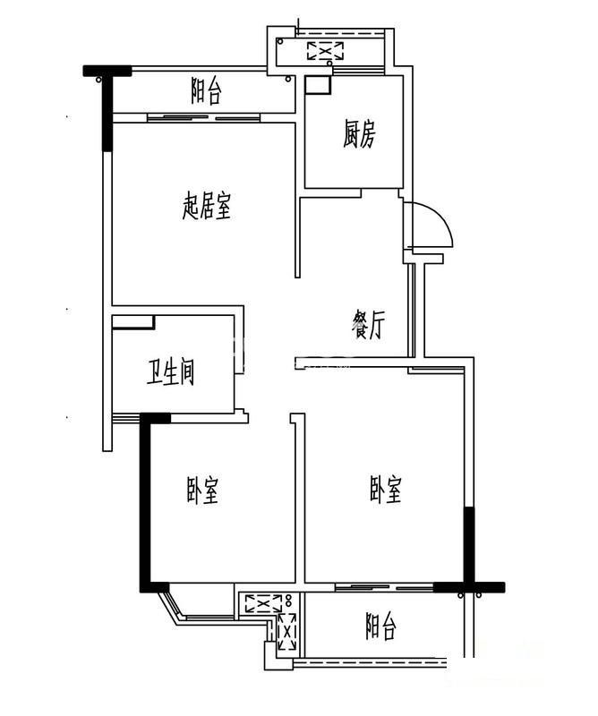 凯阳花园户型图
