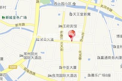 兴龙家园区位图