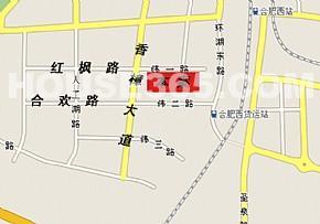 富邻广场交通图