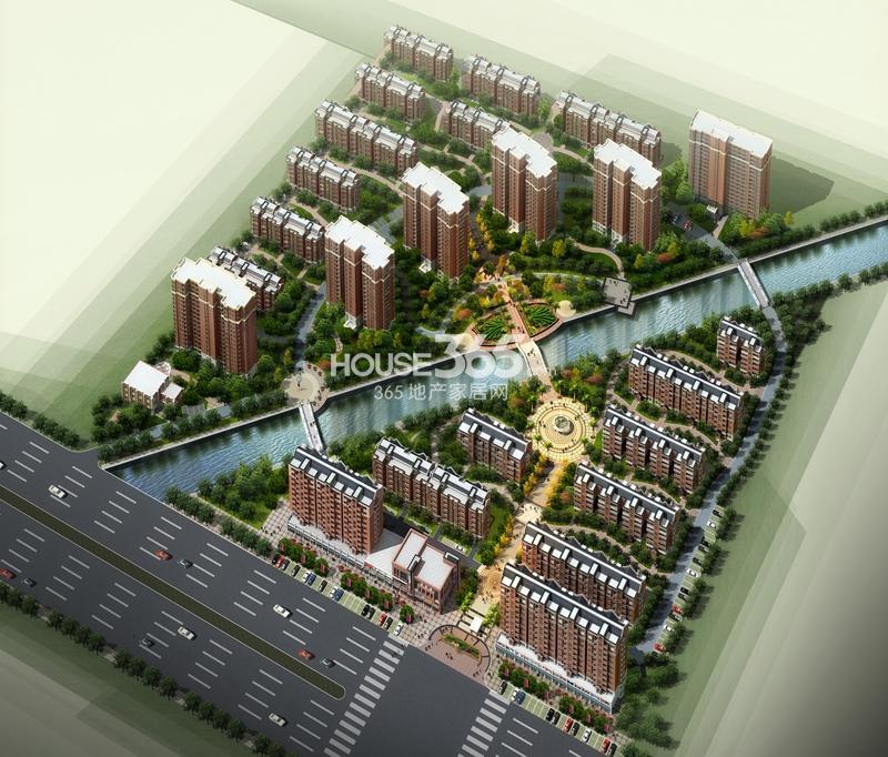 创维乐活城鸟瞰图
