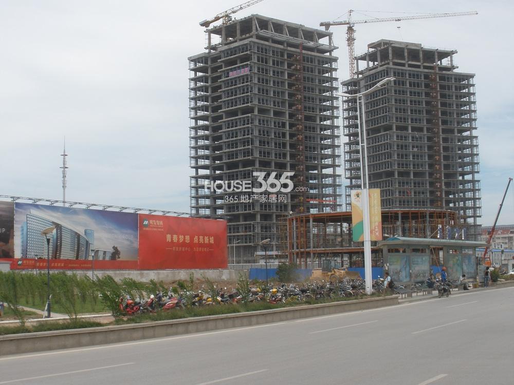 东方万汇城临近总部大厦(7.12)
