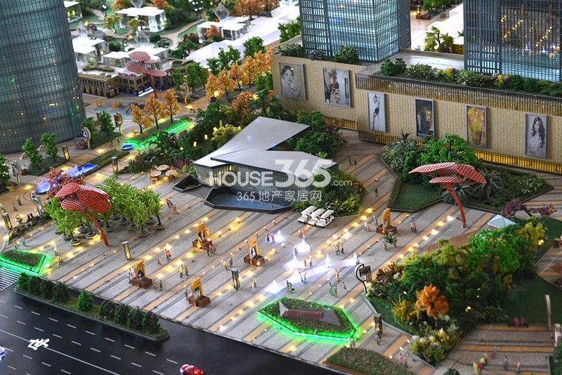 国润城售楼部沙盘图(2013年7月15日)